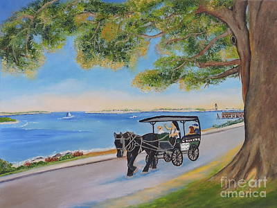 Painting - Southport Stroll by Shelia Kempf
