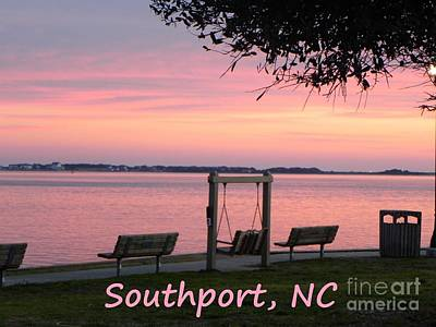 Painting - Southport Waterfront Poster by Shelia Kempf
