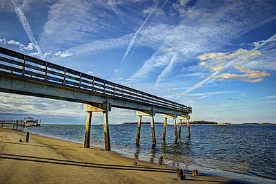 Photograph - Southside Tybee Island Sunrise by Reid Callaway