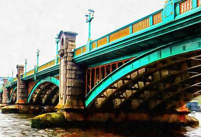 Photograph - Southwark Bridge London by Dorothy Berry-Lound