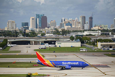 Photograph - Southwest @ Fort Lauderdale by Dart and Suze Humeston