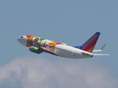 Photograph - Southwest Air - Florida  by Dart and Suze Humeston