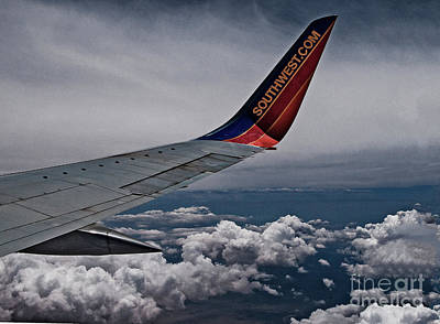 Photograph - Southwest Airline by Mae Wertz