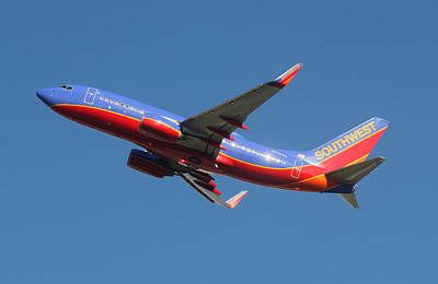 Photograph - Southwest Airlines Boeing 737 by Joseph C Hinson Photography