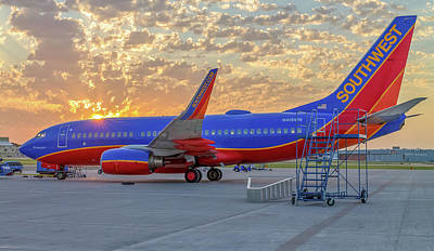 Robert Bellomy Royalty-Free and Rights-Managed Images - Southwest Airlines - The Winning Spirit by Robert Bellomy