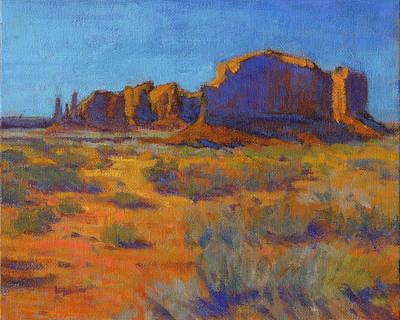 Painting - Navajoland by Konnie Kim