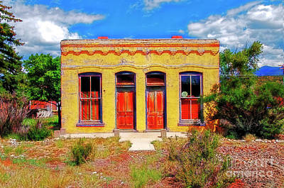 Photograph - Southwest Building by David Arment