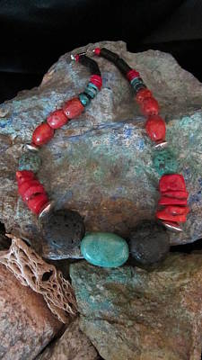 Jewelry - Southwest Colors #s65 by Barbara Prestridge