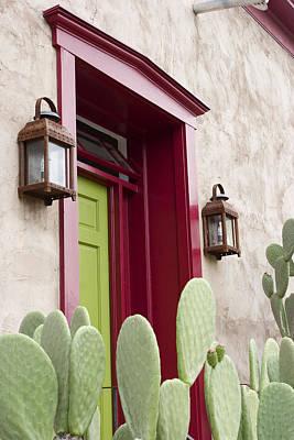 Southwest Doorway Print by Elvira Butler