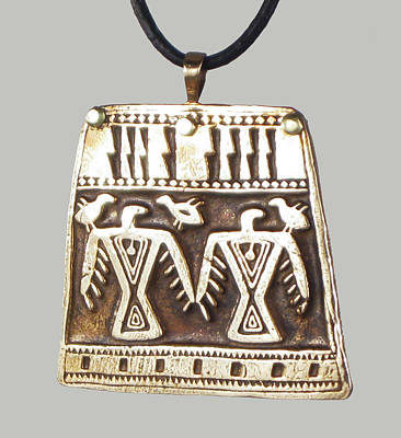 Esprit Mystique Jewelry - Southwest Eagle Pendant by Virginia Vivier