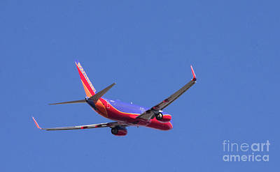 Photograph - Southwest Flight by Louise Magno