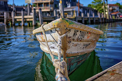 Photograph - Southwest Harbor by Rick Berk