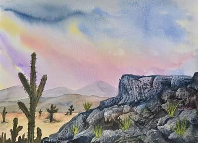 Southwest Landscape I Original