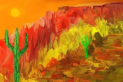 Digital Art - Southwest Memories by David Lane