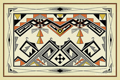 Digital Art - Southwest Pattern by Tim Hightower