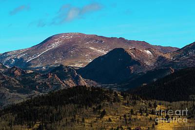 Photograph - Southwest Pikes Peak by Steve Krull