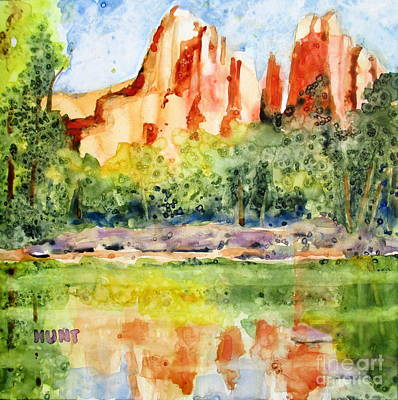 Painting - Southwest Reflections by Shirley Braithwaite Hunt