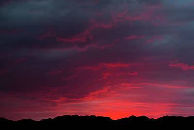 Photograph - Southwest Texas Sunset by SR Green