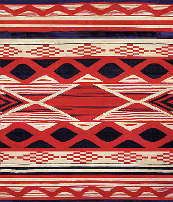 Digital Art - Southwest Tribal Design by Vagabond Folk Art - Virginia Vivier