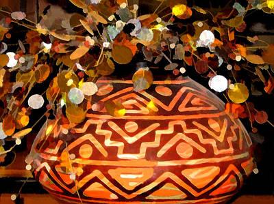 Southwest Vase Art Art Print