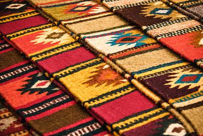 Southwest Weavers Art Print by Steven Bateson