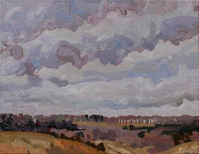 Watershed Painting - Southwest Winds by Phil Chadwick