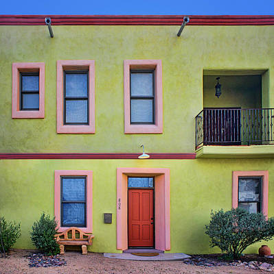 Photograph - Southwestern - Architecture - Barrio Viejo by Nikolyn McDonald