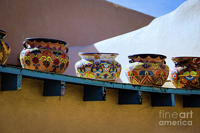 Photograph - Southwestern Bowls by Jon Burch Photography