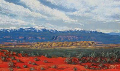Painting - Southwestern Desert by Gene Foust