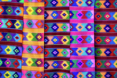 Photograph - Southwestern Rugs by James Barber