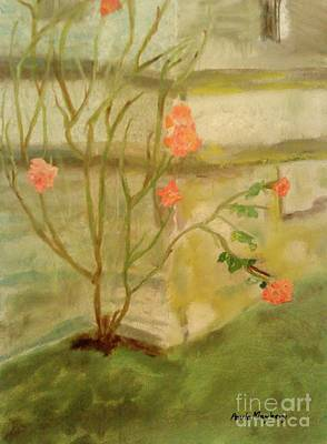 Painting - Southwick Hall Rose by Paula Maybery