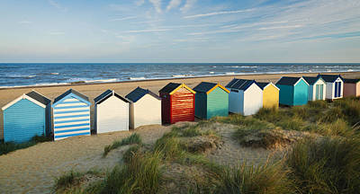 Photograph - Southwold Beach Huts by Ian Merton