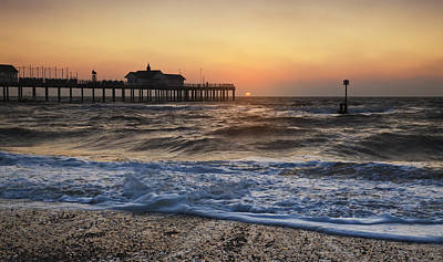 Photograph - Southwold Pier by Ian Merton