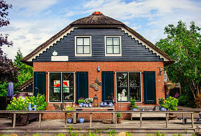 Photograph - Souvenir Shop In Giethoorn by Jenny Rainbow