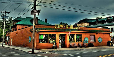 Photograph - Souvenir Village In Old Forge Ny by David Patterson