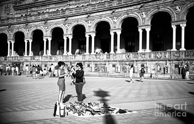 Photograph - Souvenirs At Plaza De Espana by John Rizzuto