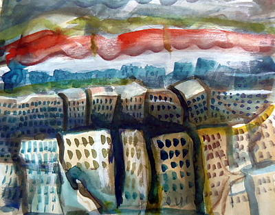 Soviet City Original by Steven Holder