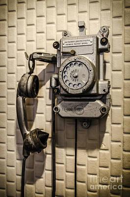 Photograph - Soviet Telephone In The Former Kgb Headquarters by RicardMN Photography