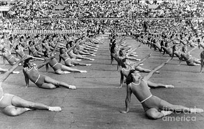 Photograph - Soviet Union: Gymnasts by Granger