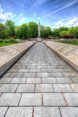 Photograph - Soviet War Graves Budapest by David Pyatt