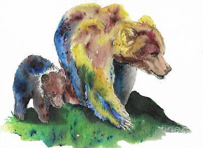 Sow And Cub Original