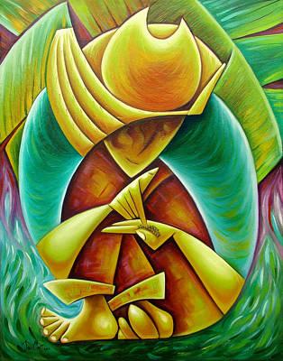 Sower Art Print by Javier Martinez