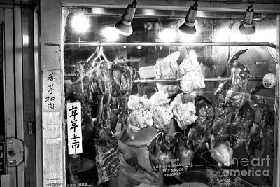 Photograph - Soy Sauce Chicken In Chinatown by John Rizzuto