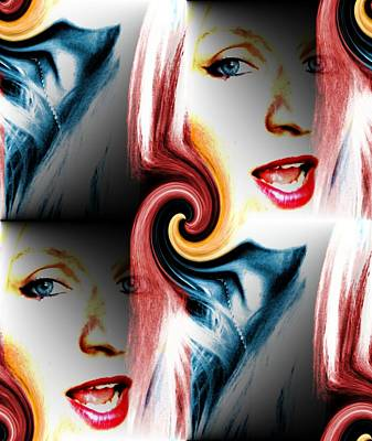Digital Art - SP by Danielle R T Haney