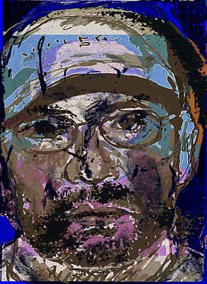 Self-portrait Mixed Media - Sp200913 by Noredin Morgan