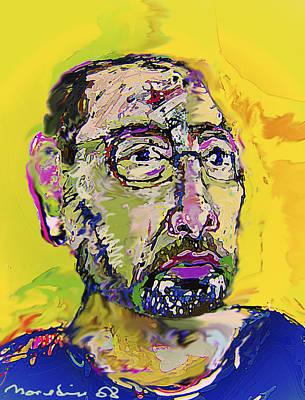 Self-portrait Mixed Media - Sp42508 by Noredin Morgan