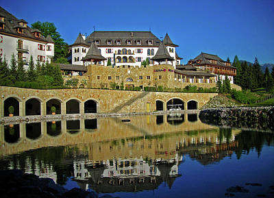 Photograph - Spa Resort A-rosa - Kitzbuehel by Juergen Weiss