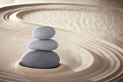 Photograph - Spa Zen Meditation Stones -  Zen by Dirk Ercken