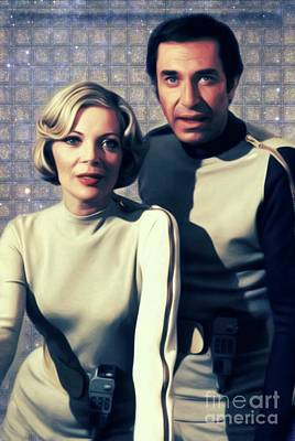 Science Fiction Royalty-Free and Rights-Managed Images - Space 1999 by Mary Bassett