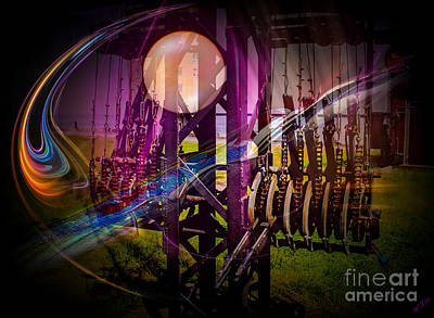 Cosmological Digital Art - Space And Time Technology by Walter Zettl